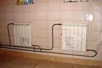 способы подключения радиаторов отопления