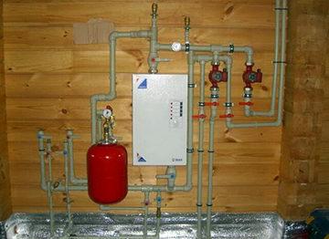 электрокотел в отопительной системе