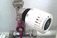 механический терморегулятор на радиатор отопления