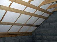 пенопласт на крыше