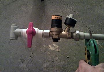 клапан автоматической подпитки