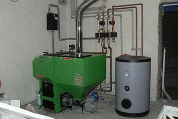 электрический котел для теплого водяного пола в доме