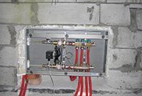 коллектор низкотемпературного отопления