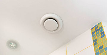 вентиляция на потолке