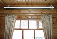 инфракрасные потолочные обогреватели для дачи