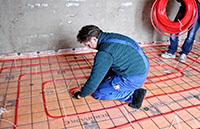 ремонт теплого пола в частном доме