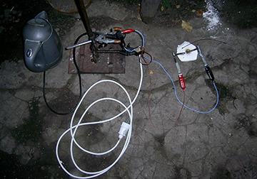 ''Прибор'' для получения электрической дуги