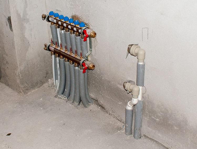 отопление системой теплый пол