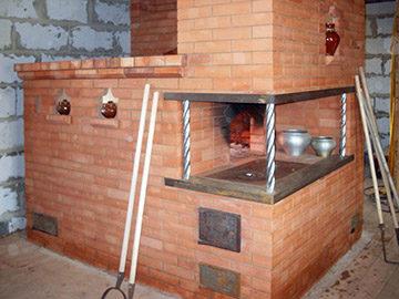 печка русская